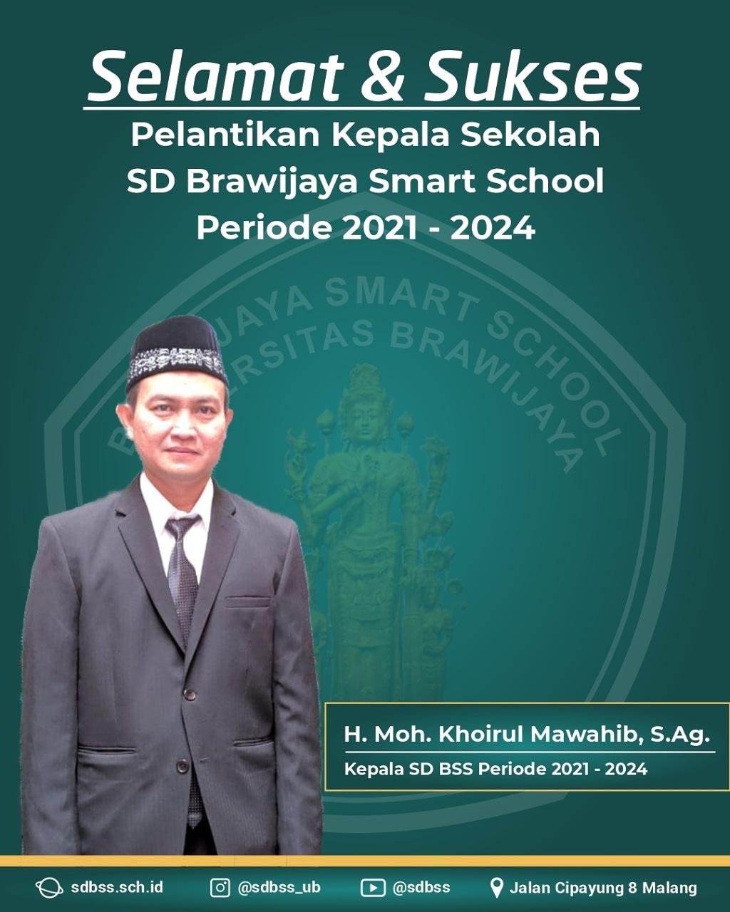 Pelantikan KS SD BSS Malang