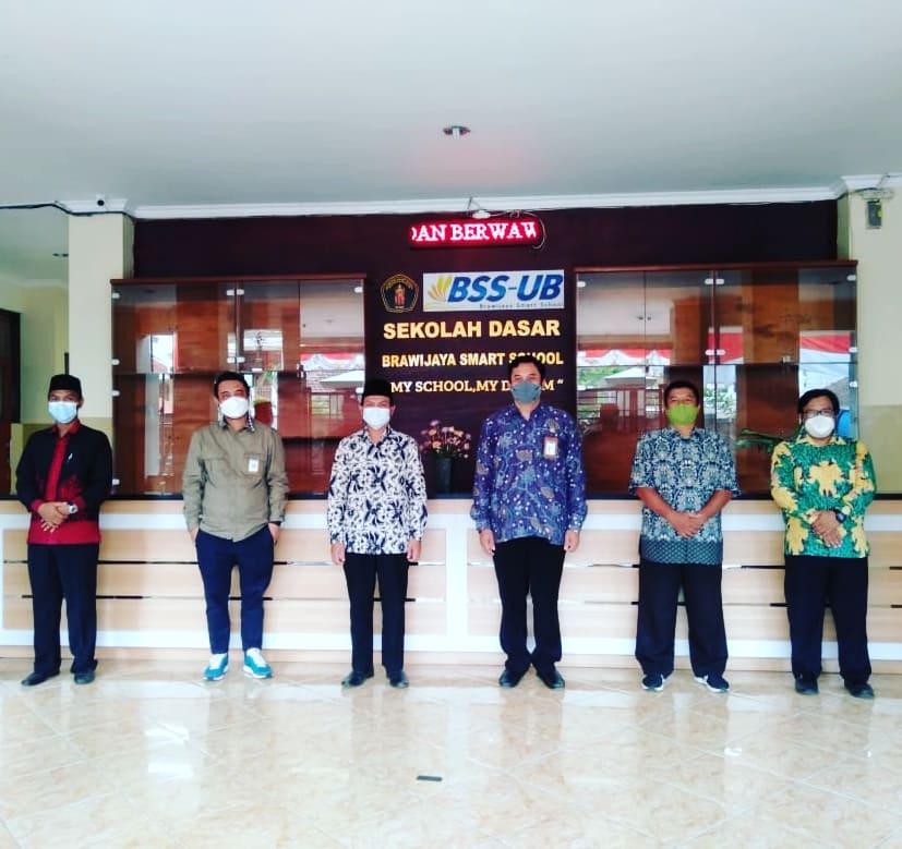 KUNJUNGAN LPMP JATIM Di SD BSS Malang.